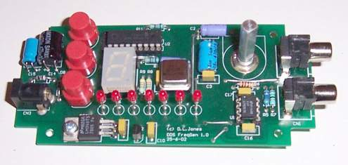 ad9835 10mhz dds sine square generator projectall this with three push buttons and a novel \